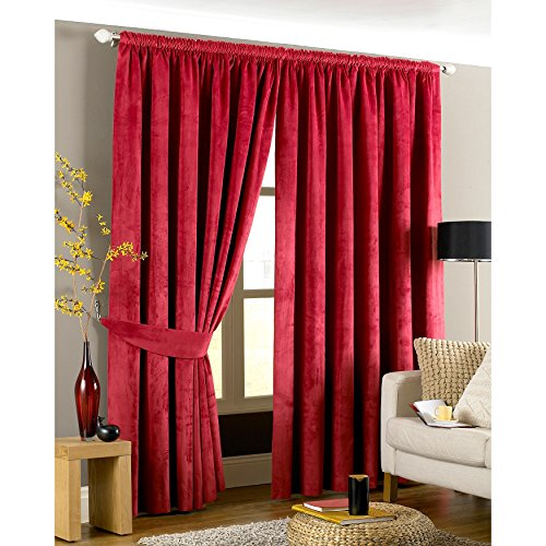 Riva Home Imperial Pencil Pleat Curtains (46 x 72 inch) (Pleats Wallet)