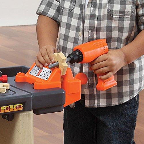 51pwru 2JeL - Step2  Handy Helpers Workbench Building Set