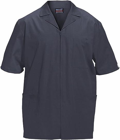 Cherokee Short-Sleeved Zip Front Jacket review