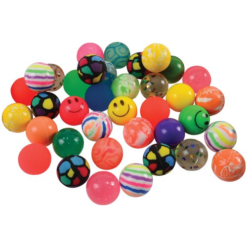 U.S. Toy 35mm Bounce Ball Assortment / 50-pc