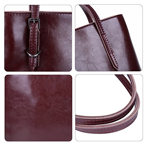 Capacity Mulberry Large for Big Leather Mulberry Bag Girls Vintage Shoulder Ladies Handbag xqnPHtI