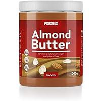 Prozis 杏仁酱 1kg - 美味柔滑口感 - 天然蛋白质来源 - 适合纯素、犹太和清真 - 低盐 不含棕榈油