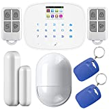 KERUI Alarm G19 Touch Screen Wireless GSM SMS Quad Band Intruder Alarm Security System For Android iOS APP Control