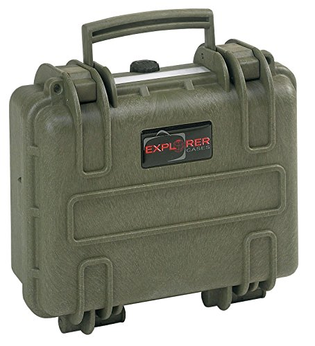 Explorer Cases 2712 GE Waterproof Dustproof Multi-Purpose Protective Case Empty, Military Green by Explorer Cases