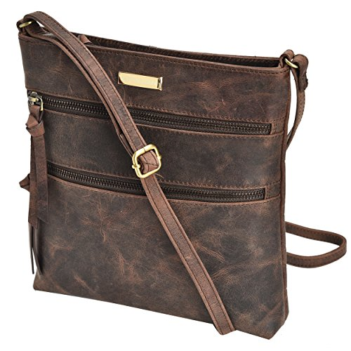 Estalon Leather Crossbody Messenger Shoulder product image