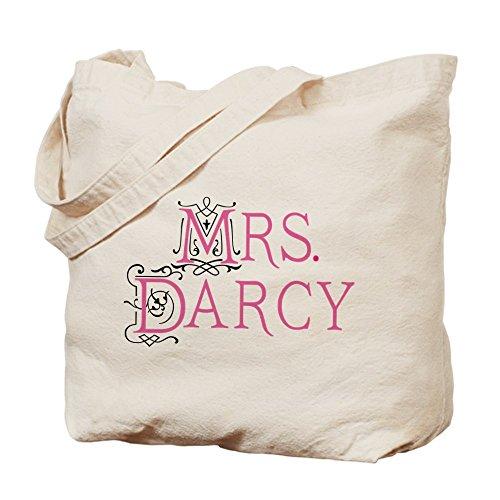 CafePress Jane Austen Mrs. Darcy - Natural Canvas Tote Ba...