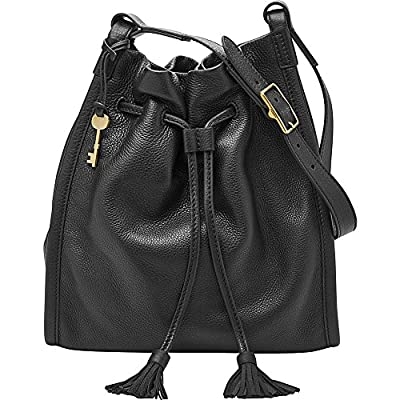 Fossil Claire Drawstring-Black