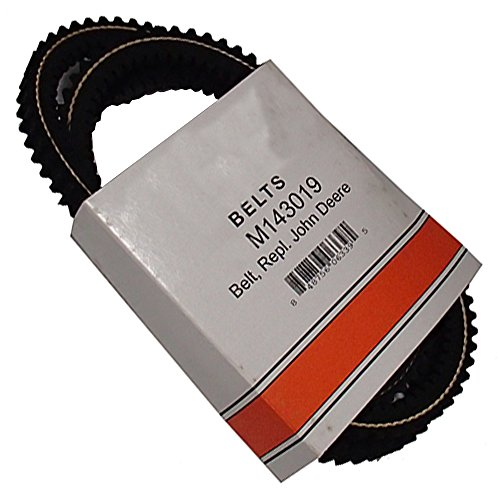 B1M143019 New Drive Cogged Belt For John Deere Riding Mower 325335 345 355D +
