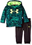 Under Armour hoody and pant set with moisture transport system wicks sweat and dries fast