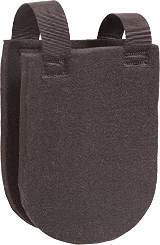 Orthopedic Felt Wither Pad - By Southwestern Equine (Black, 2 1/2