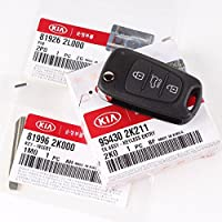 Genuine OEM Kia Keyless Remote Control Folding Key(3PC) 2010-2013 For Soul