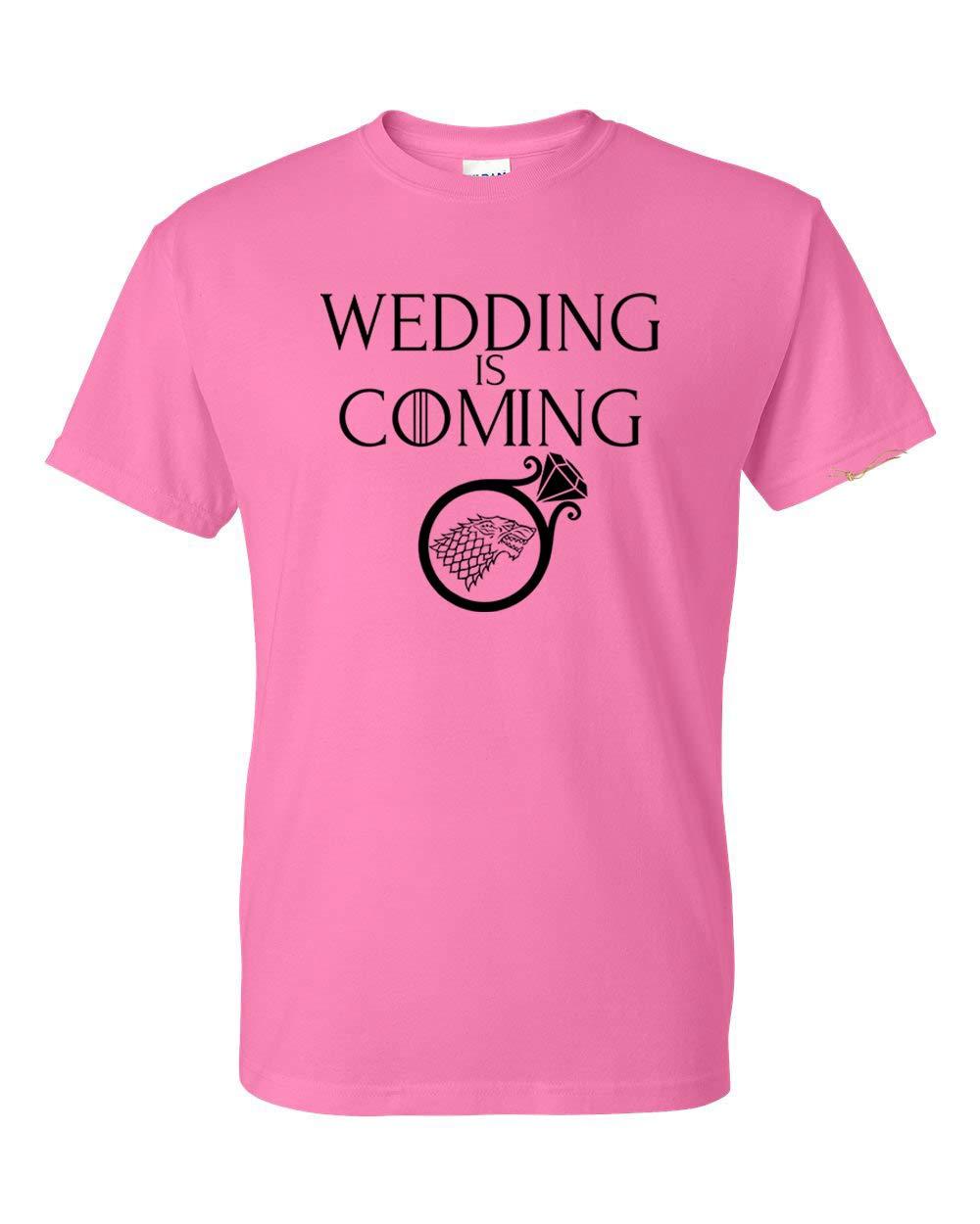 Game Of Thrones Wedding Is Coming Bride Unisex Short Sleeve Shirt