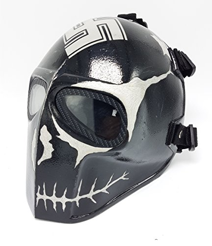 [Invader King ® Zombie Army of Two Airsoft Mask Protective Gear Outdoor Sport Fancy Party Ghost Masks Bb] (Costume Ideas For Day Of The Dead)