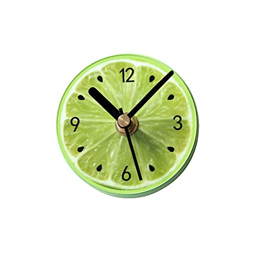 VORCOOL imán frigorífico Magnet nevera reloj de pared redondo ...