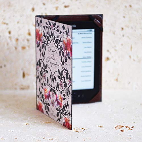Book Cover Case for All 6'' eReaders inc. Paperwhite (Pride and Prejudice) by KleverCase (Image #7)
