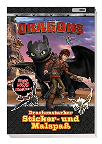 und MalspaßDreamWorks DragonsPanini500 Sticker Drachenstarker Sticker