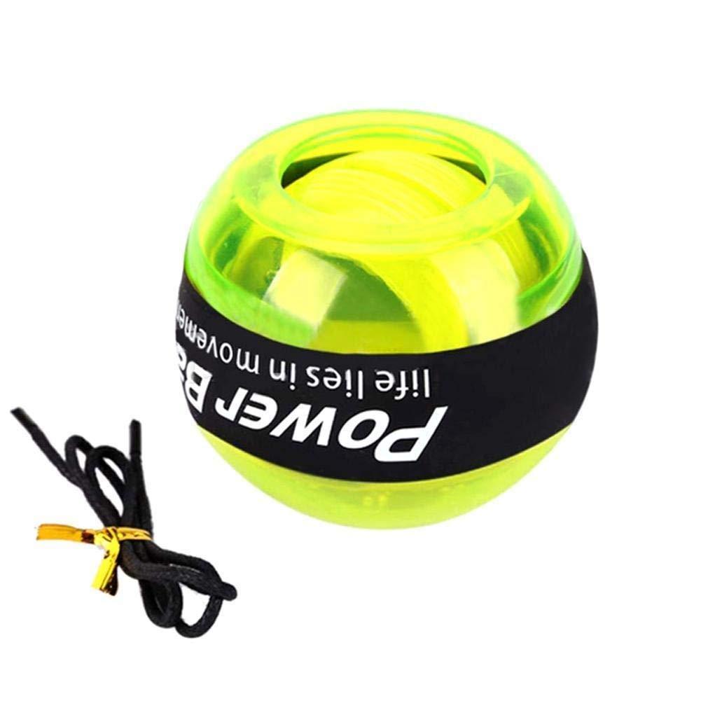 WMM - Wrist ball Models Gyroscopes - Wrist Strengthener, Grip Strengthening Gyro Ball (Color : Yellow) by WMM - Wrist ball