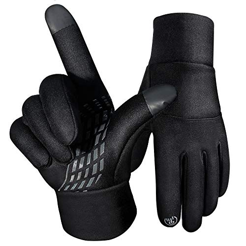 Women Mens Winter Gloves Touchscreen Water Resistant Windproof Warm for Cycling Running