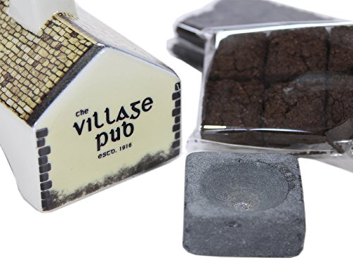 Irish Pub Turf Peat Incense Burner Set - incensecentral.us