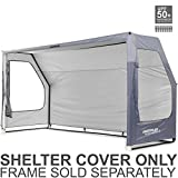QUICKPLAY Portable Soccer Team Shelter Cover Only - designed to fit the QUICKPLAY 12x6' Fold Away Soccer Goal frame