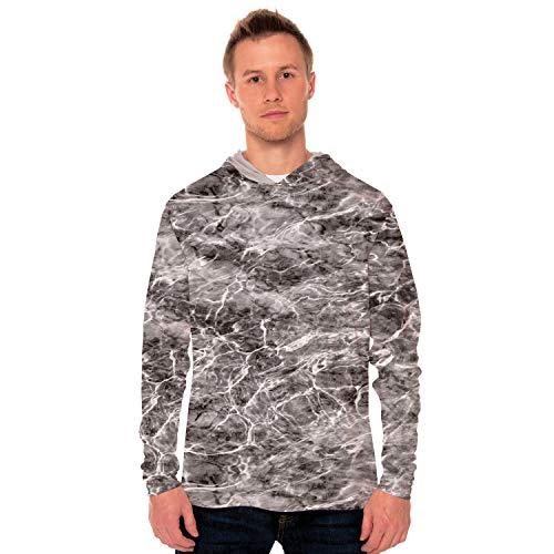 Vapor Apparel Mossy Oak Elements - Manta Men's UPF 50+ Long Sleeve Hoody Medium