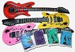 12 aufblasbare Gitarren Luft Gitarre...