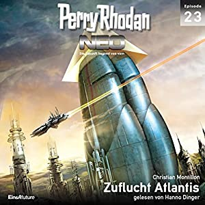 Zuflucht Atlantis (Perry Rhodan NEO 23) Hörbuch