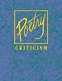 Poetry Criticism 9780787659646