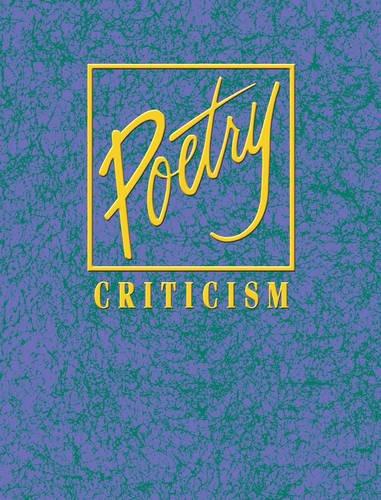 Download Poetry Criticism PDF