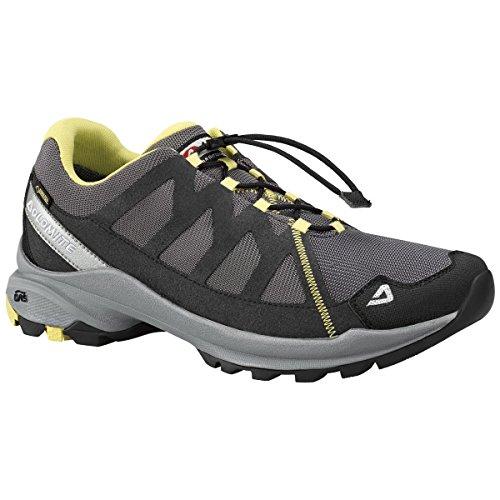 Dolomite - Zapatillas de senderismo para hombre Asphalt Grey/Endive Green