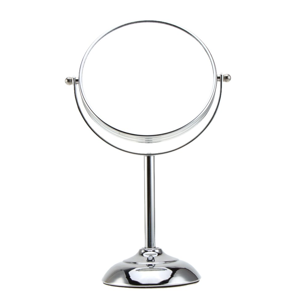 Anself 6 Inch 10x Magnification Round Double Dual Side Rotating Cosmetic Mirror Amazoncouk Beauty
