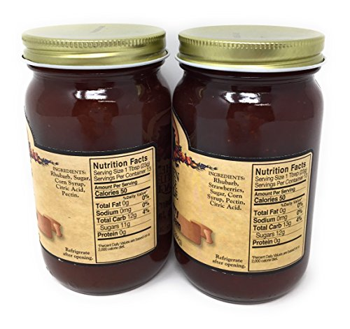 Kitchen Kettle Village Coupons: Jams, Jellies & Sweet Spreads Rhubarb Jam & Strawberry