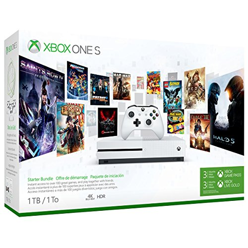 Video Games : Xbox One S 1TB Console - Starter Bundle