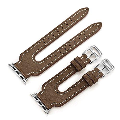 EloBeth Leather iWatch Genuine Adapter