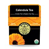 Organic Calendula Flower Tea - Kosher, Caffeine Free, GMO-Free - 18 Bleach Free Tea Bags