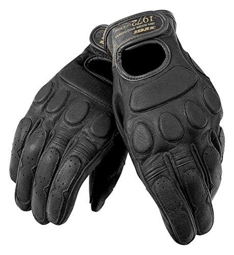 Dainese Blackjack Adult Goatskin Leather Gloves, Black/Black/Black, Med/MD ()