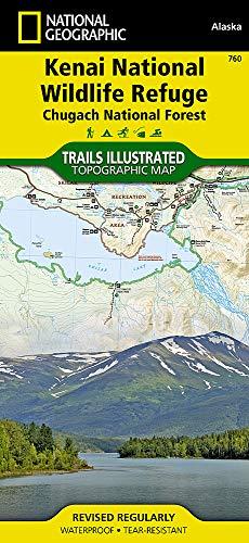 National Wildlife Refuge - Kenai National Wildlife Refuge [Chugach National Forest] (National Geographic Trails Illustrated Map)