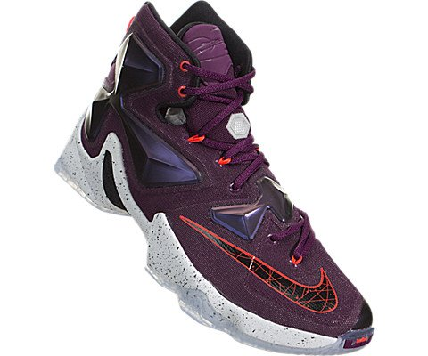 Pictures of Nike Men's Lebron XIII Mulberry/Blk/ 2