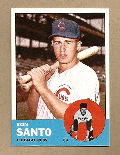 ron-santo-1963-reprint-baseball-card-with-3-additional-hall-of-famer-cards