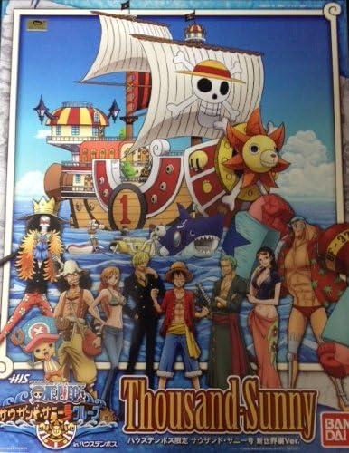 ONE PIECE Thousand Sunny New World Version Model Kit Bandai