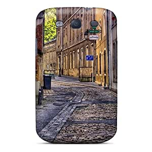 Tpu Case Cover Compatible For Galaxy S3/ Hot Case/ Clean City Alley Hdr