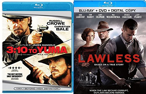 Lawless + 3:10 to Yuma [Blu-ray] Western Set Double Feature