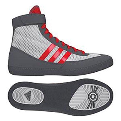 adidas Combat Speed 4 Wrestling Shoes - Soilar Yellow/Black - 4.5