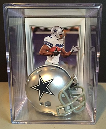 Dallas Cowboys NFL Helmet Shadowbox w/ Terrell Owens card