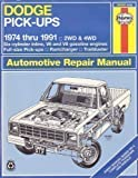 Dodge Pick-Ups : 1974-1990, Cumbaa, S., 156392031X