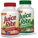 Juice Rite - Integratore Frutta e Verdura 100% Naturale Vegetariano & Vegano in Offerta