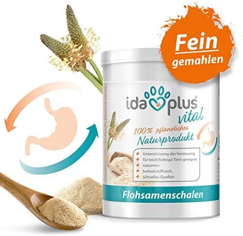 [Gesponsert]Ida Plus - Flohsamenschalen-Pulver - 700g - fein gemahlen - vegan - glutenfrei - zur Unterstützung der Verdauung...