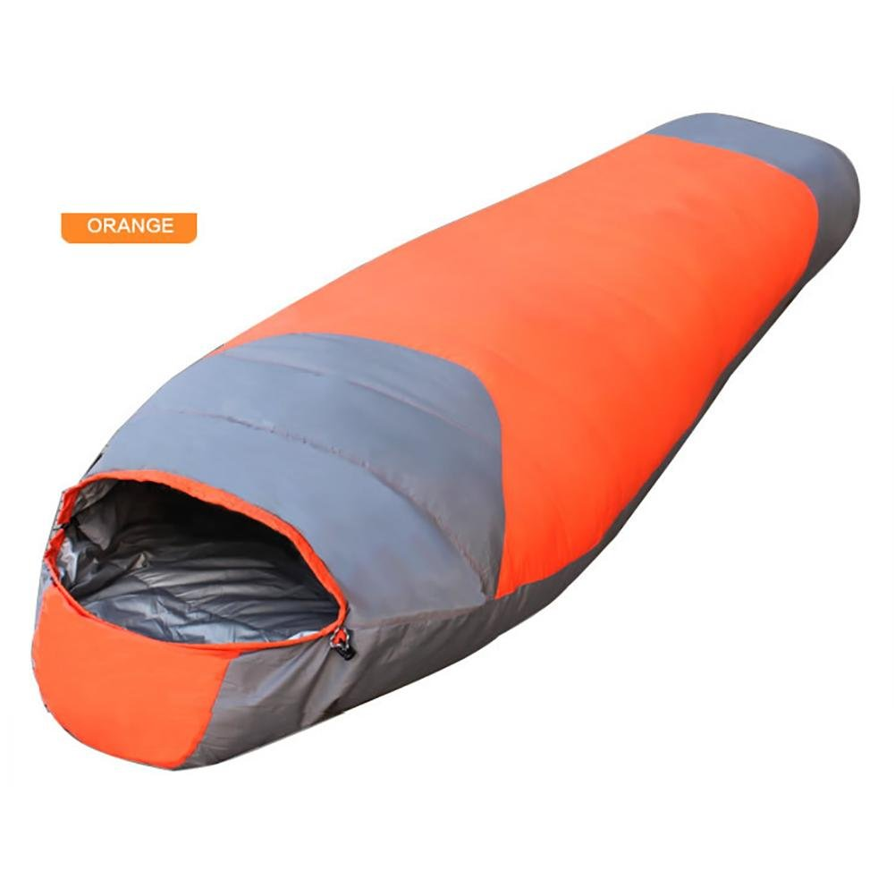 MIAO Outdoor Camping Adult Warm 2200g Mummy Sleeping Bags , orange