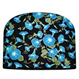 Blue Moon Morning Glory Tea Cozy Double Insulated Tea Cozy Blue Moon Tea Cozy