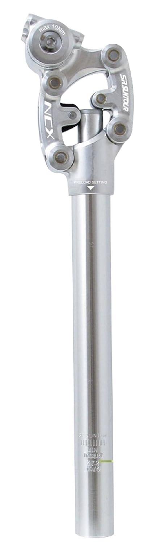 SR SUTOUR(エスアールサンツアー) ピラー NCX サスペンションシートポスト シルバー 27.2X350MM 659092 B00GXY80MM
